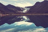 image of wild adventure  - Svartisen Glacier in Norway - JPG