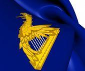 Ireland Eagle Harp Flag