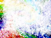 rainbow grunge background