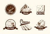 Cheese sketch labels