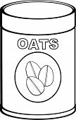 oats bottle