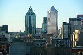 Montreal city skyline, Quebec, Canada
