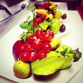 Plato de frutas