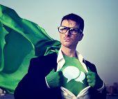 Speech bubbles Strong Superhero Success Professional Empowerment Stock Concept