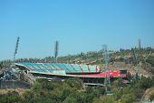 stadium Hrazdan in Yerevan, Armenia