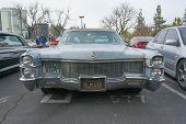 Cadillac Sedan De Ville 1965 On Display