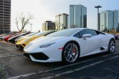 Lamborghini S On Display