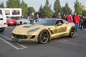 Corvette Z06 On Display