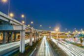 Expressway At Night