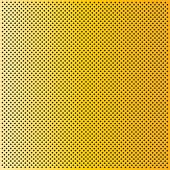 High resolution concept conceptual yellow or golden metal stainless steel aluminum perforated pattern texture mesh background