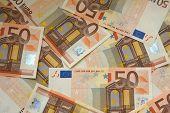 50 euros bills