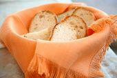 breads in a basket