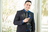Businessman With A Credit Card