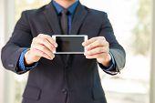 Showing A Smart Phone Screen