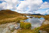 Autumn Scenery In Tyrolean Alps In Austria