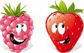 Strawberry And Raspberry