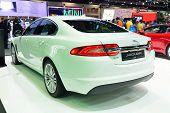 Nonthaburi - December 1: Jaguar Xf Car Display At Thailand International Motor Expo On December 1, 2