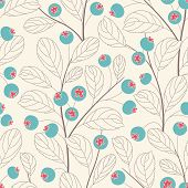 Whortleberries background