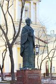 Perm, Russia - Apr,25, 2014: Monument To Saint Nicholas Was Established In 2008
