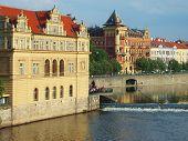 Prague - embankment