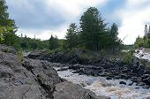 Saint Louis River Gorge And Rapids In Jay Cooke