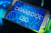 picture of cbd  - the chemical formula of Cannabidiol  - JPG