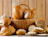 Different Types Of Bread .