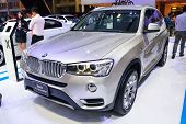 Nonthaburi - December 1: Bmw X3 Xdrive 20D Suv Car Display At Thailand International Motor Expo On D