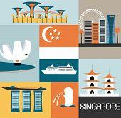 Symbols Of Singapore.