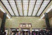 Florence Train Station Of Santa Maria Novella, Italy