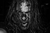 Scary Evil Zombie