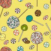 Cartoon Candys.