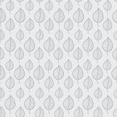 Pattern leafs gray