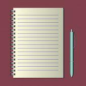 Notebook On A Spiral