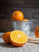 Oranges Cut