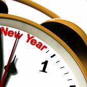 Neujahr-Zeit