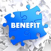 Benefit on Blue Puzzle.