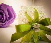 Violet And Green Wedding