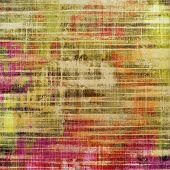 Abstract old background or faded grunge texture. With different color patterns: green; purple (violet); orange; yellow