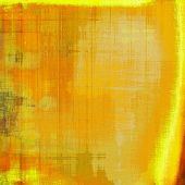 Old ancient texture, may be used as abstract grunge background. With different color patterns: orange; brown; yellow
