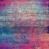 Grunge texture, distressed background. With different color patterns: blue; purple (violet); red