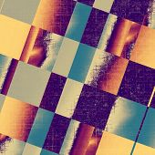 Grunge background or texture for your design. With different color patterns: gray; blue; purple (violet); orange; yellow