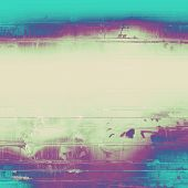 Abstract old background or faded grunge texture. With different color patterns: gray; blue; purple (violet)