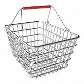 Vector Empty Shopping Basket