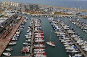 Aerial view of Herzliya Marina