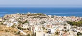 Panorama picture from Rethymno on Crete