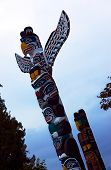 Totem Pole: Flying eagle.