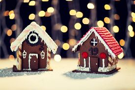 foto of gingerbread house  - holidays - JPG