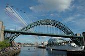 Tyne Bridge Red Arrows