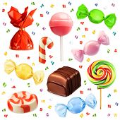 image of lolli  - Candy set - JPG